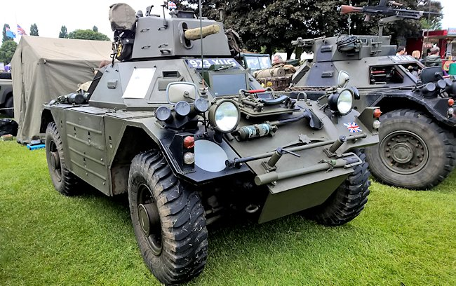 Restored Mark 2/3 Daimler Ferret Armoured Car