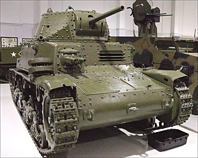 This Fiat Ansaldo Carro Armato M13/40 Italian Medium Tank can be found at Base Borden Military Museum, Canadian Forces Base Borden, Canada