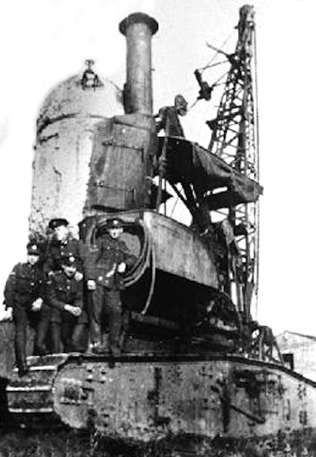 Cun Carrier Crane