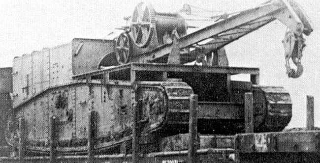 Gun Carrier Mk1 crane modification