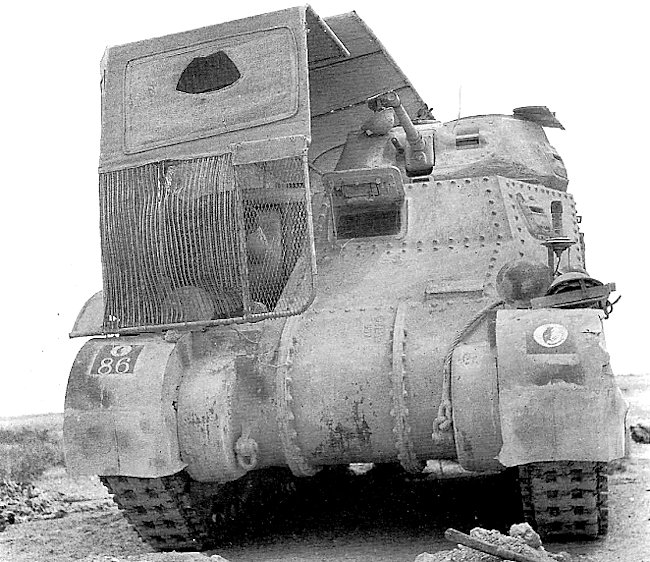 Operation Bertrum M3 Grant tank with Sunshield Lorry camo