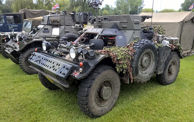 Mk.1/2 Daimler Ferret Armoured car with fixed turret. Frontal turret armour increased to 32mm