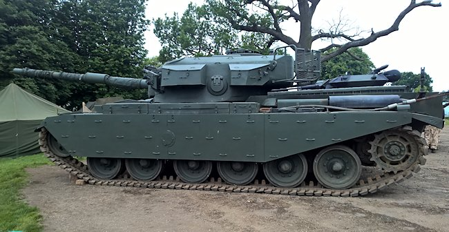 Mk.13 Centurion tank used by the British Army Royal Engineers now restored to working condition by Armourgeddon in the UK
