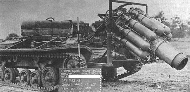 Myth - Rocket Powered Valentine tank