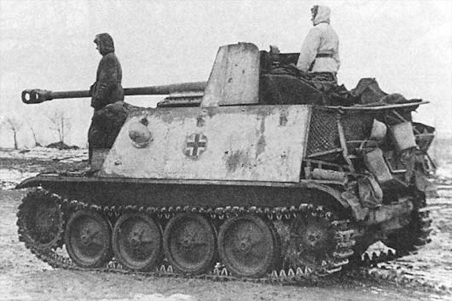 Marder II Eastern Front