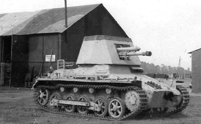 4.7 cm Pa.K. 36 (t) (Sf.) auf Panzerkampfwagen I (Sd.Kfz. 101) Ausf. B or Panzerjäger I