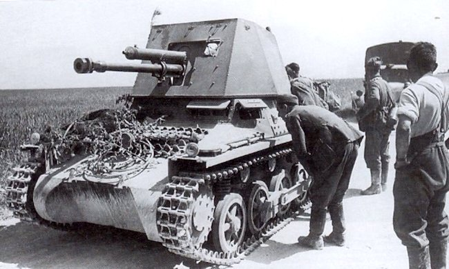 Panzerjager I Eastern Front