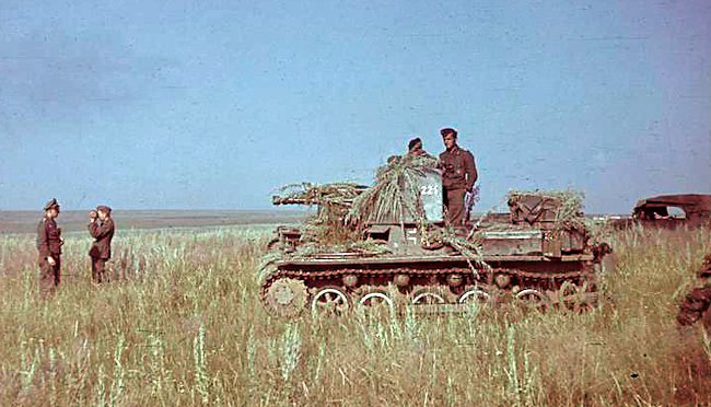 Probably the Panzerjäger-Abteilung 670, summer 1941, Ukraine, Operation Barbarossa