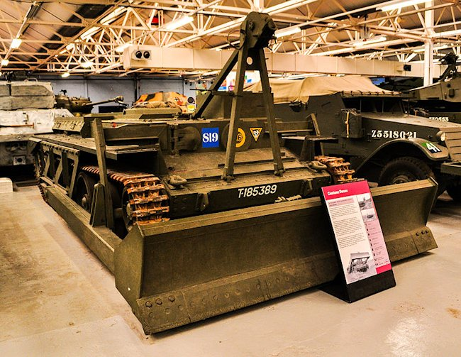Centaur ARV Mk.1 Dozer at the Tank Museum Bovington