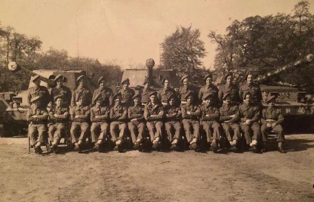 A picture of the 20th Anti-Tank regiment, one of the few units which used the Archer - Credits: Mark Nash personal collection