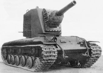 The U-3, a KV-2 prototype, February, 1940.