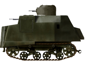 Rendition of a NI with a T-38/T-37A turret. There is a piece of footage that shows this type, except the location of its side viewport is moved higher and closer to the front of the turret, which has never been seen on other examples of T-37A/T-38s.