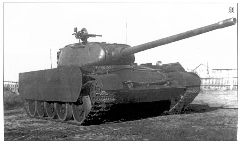The T-44/100 prototype.