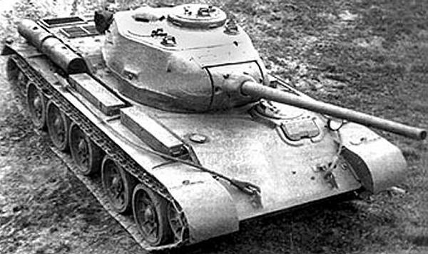 The second T-44 prototype.