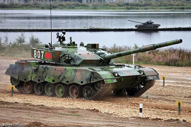 Type 96A at Tank Biathlon final 2014
