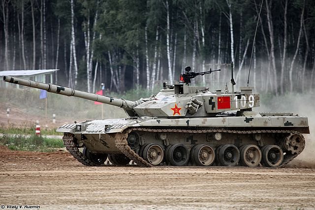 Type 96A at the Tank biathlon 2016