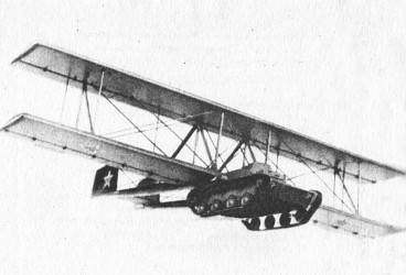 An illustration of the Antonov A-40 in flight, circa 1942, produced by the Antonov factory