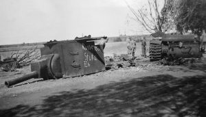 Another destroyed KV-2