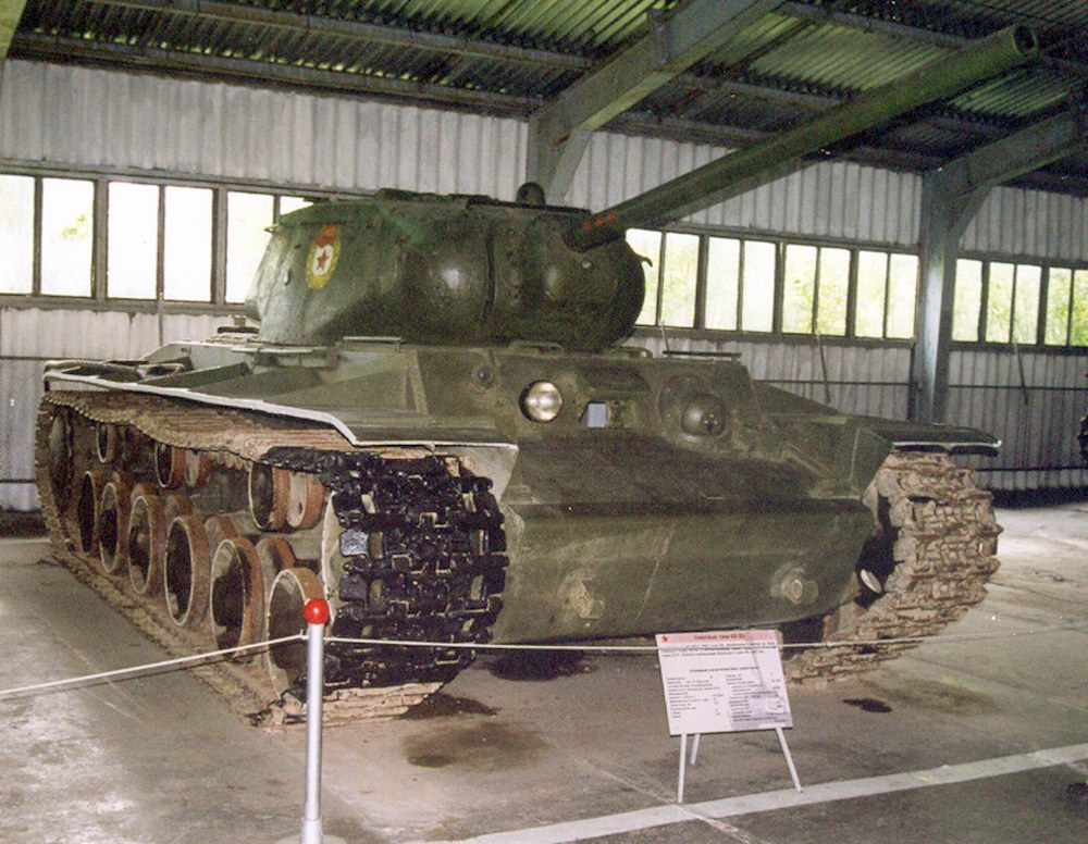 KV-1S in the Kubinka tank museum