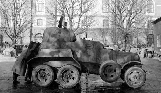 A Pansarbil M/13F in Stockholm, Sweden