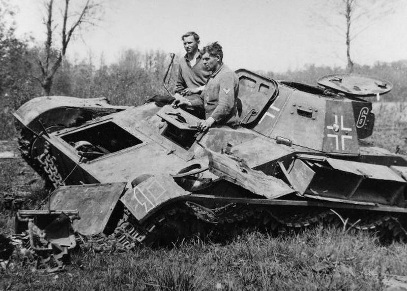 A knocked out T-60 in Wehrmacht service.