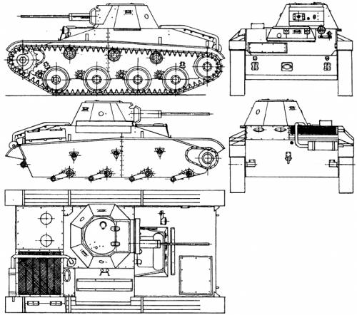 A technical drawing of the T-60