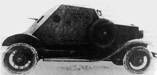 A rare photo of a D-8 in Soviet service