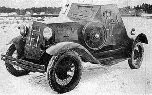 A rare photo of the D-8. This one has been captured by the Finnish, and has probably had its armaments removed.