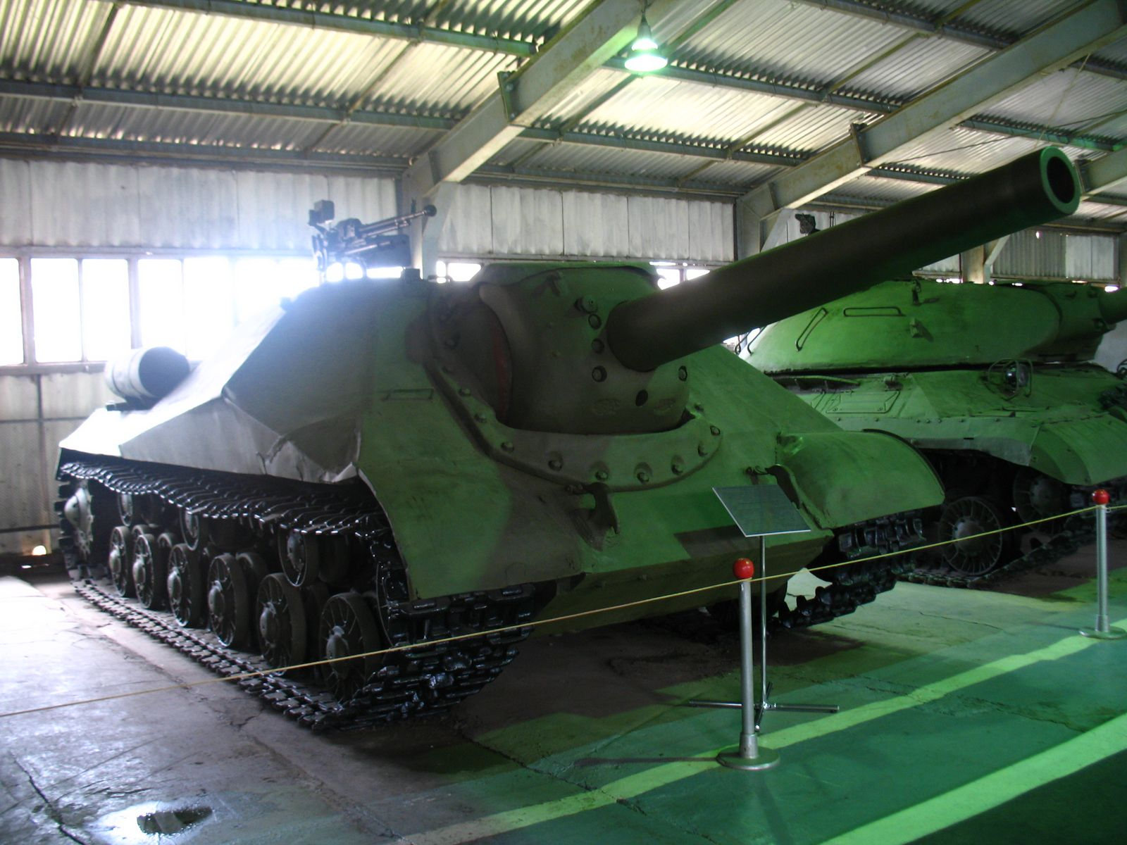 Object 704 at the Kubinka museum