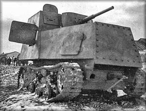 Another abandoned KhTZ-16. The vehicle also appears to be camouflaged