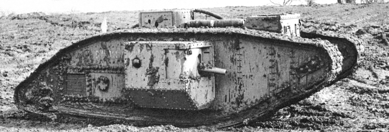 TANQUES Y BLINDAJES DE TANQUES British_Mark_V_male_tank
