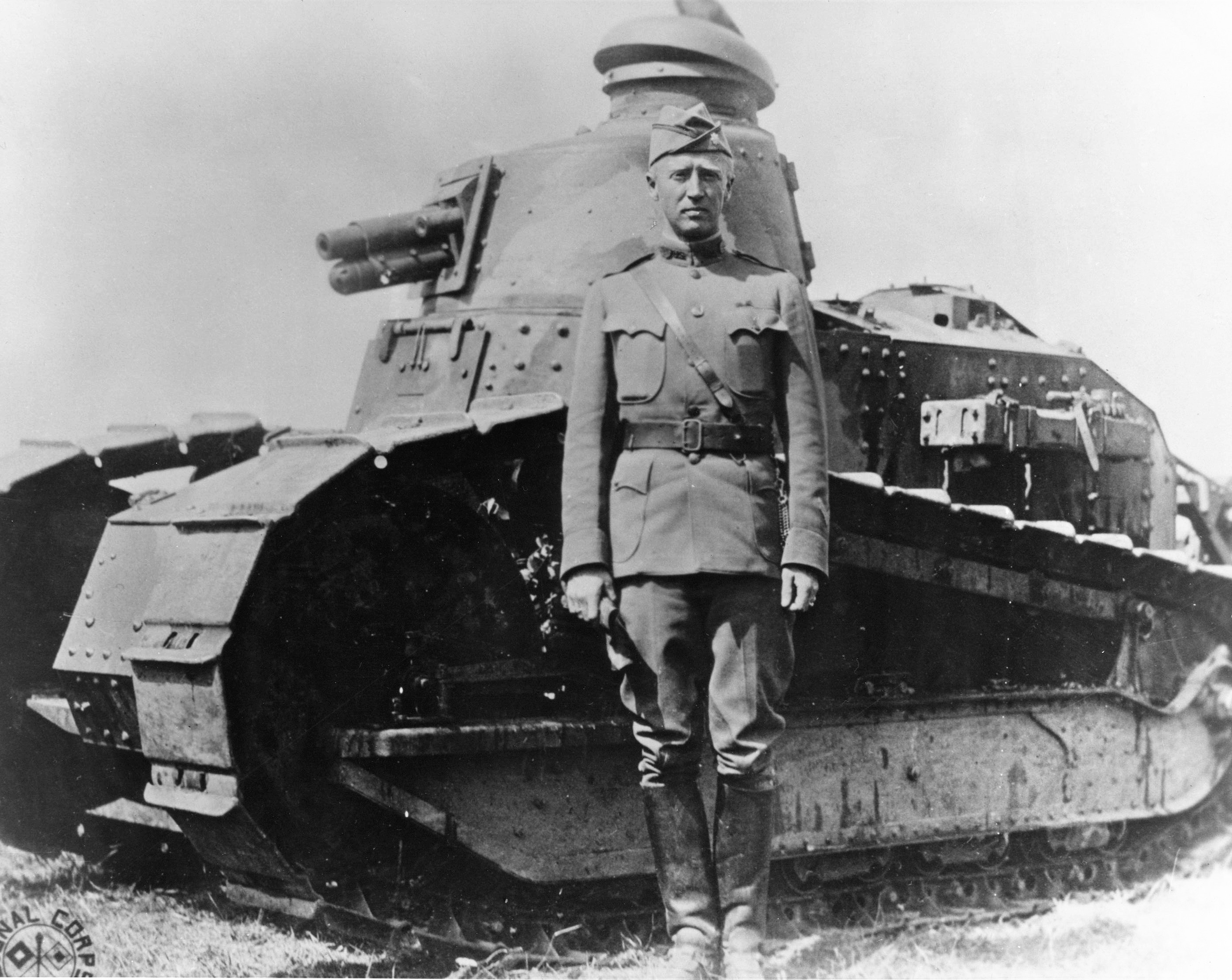 US tanks and armored cars of WWI