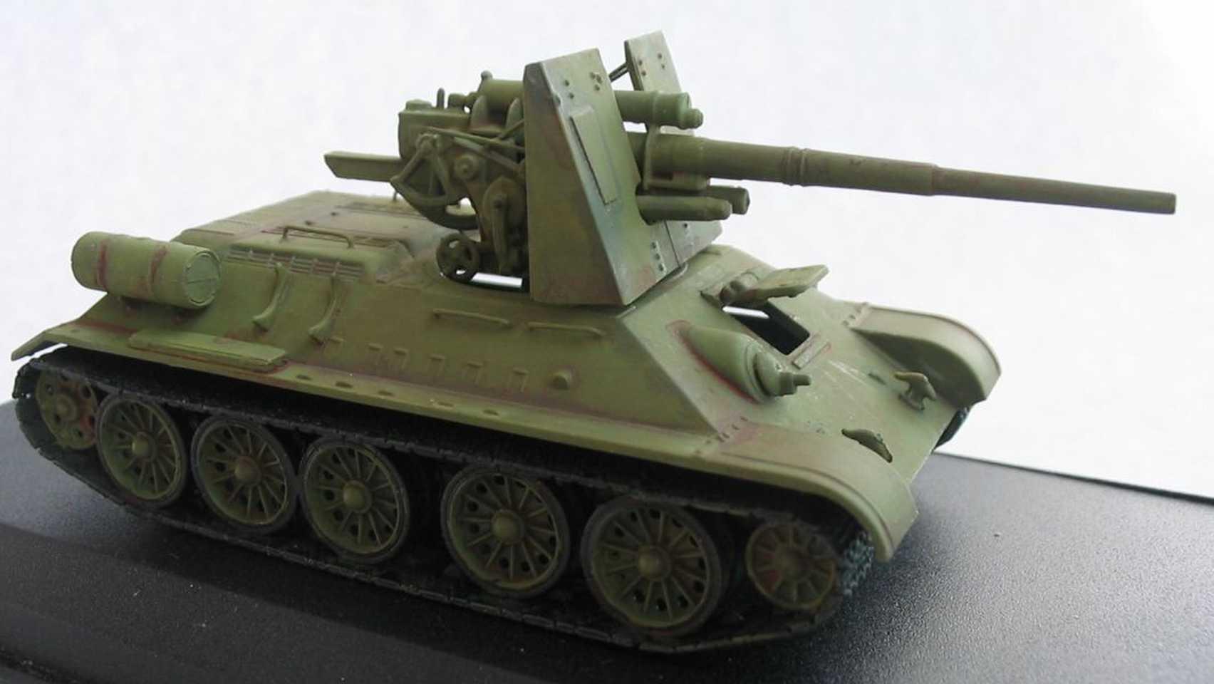 Henk of Holland T-34 mit 88 flak