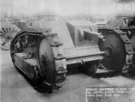 Ford 3-ton tank design