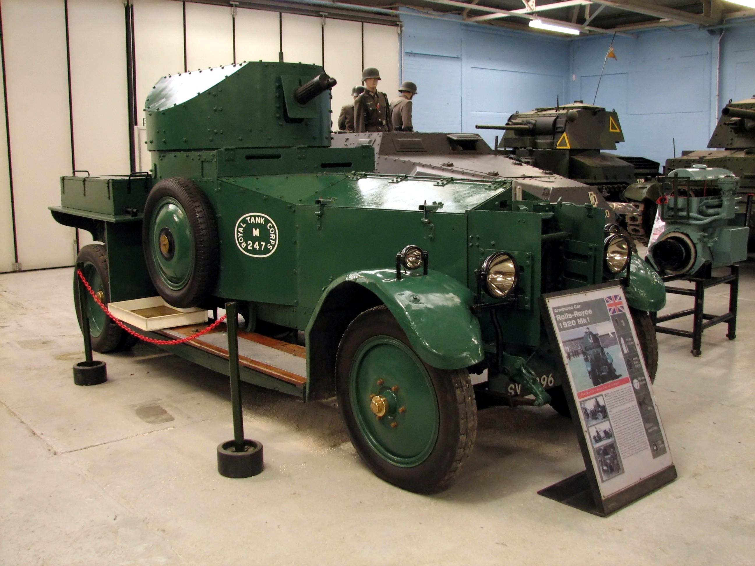 1920 Mk.I Pattern at Bovington
