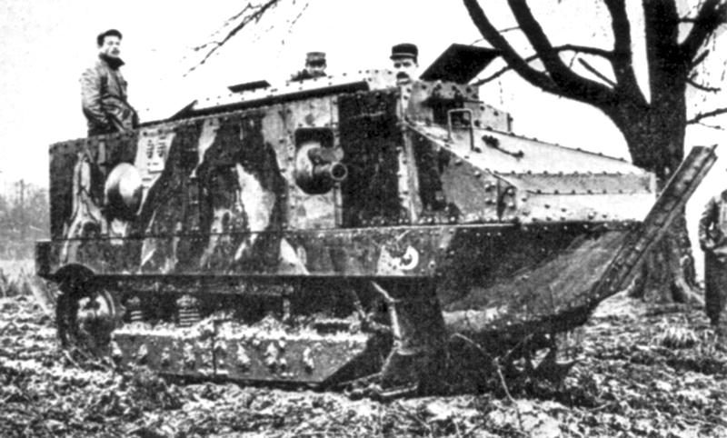 CA1 in trials, april 1916.
