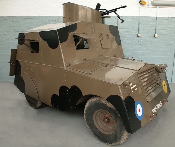 A Standard Beaverette Mark III at the Duxford museum