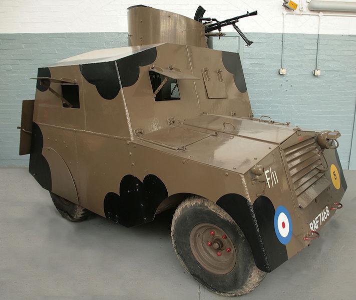 A Standard Beaverette Mark III at the Duxford museum