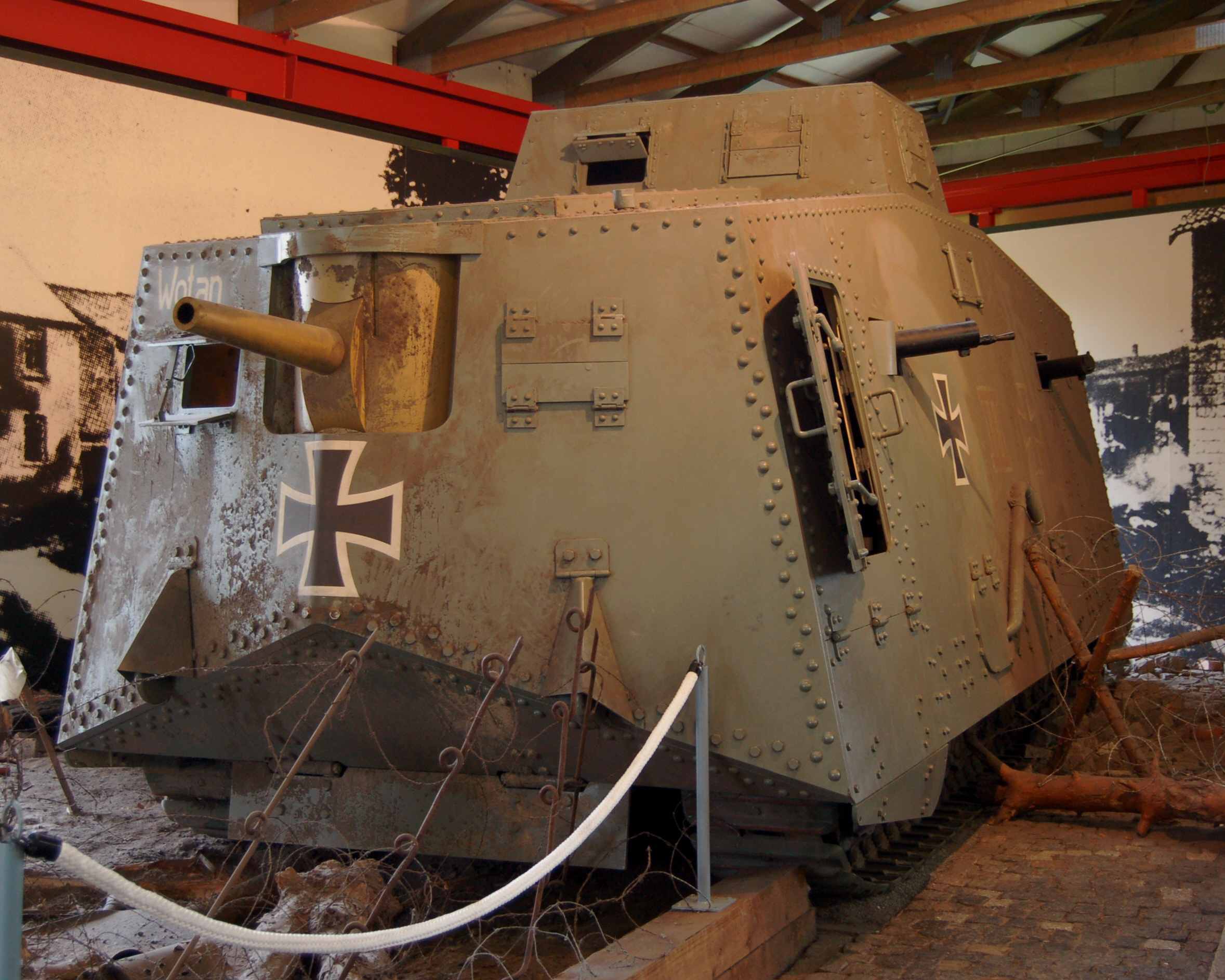 Stürmpanzerwagen A7V