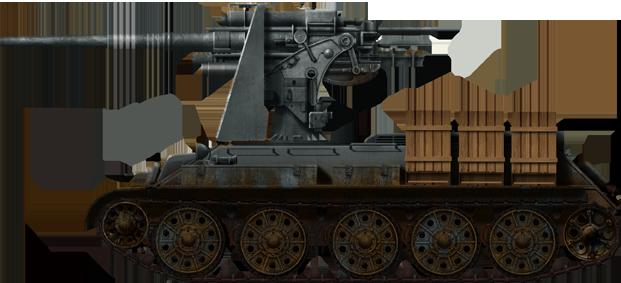 T-34 mit 88 Flak gun