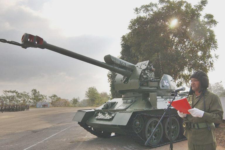 cuban t-34 d30