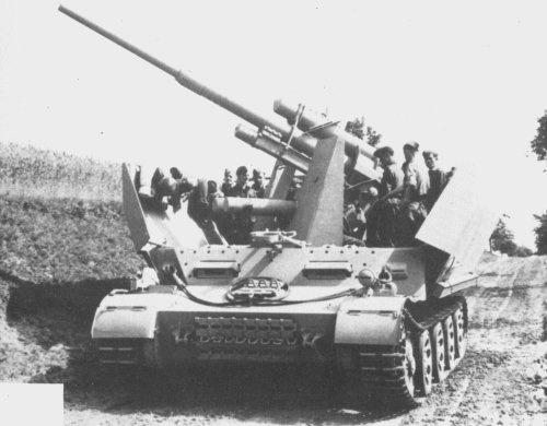versuchsflakwagen mit flak 37