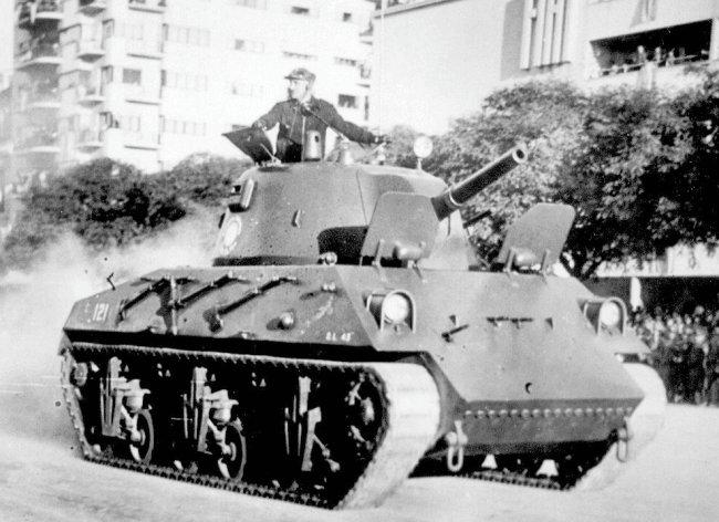 Nahuel DL 43 tank