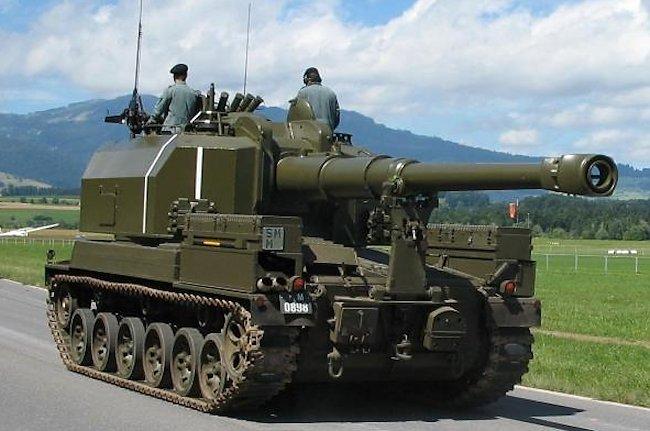 Swiss Army Panzerartilleriekanone 68 (15.5 cm Art Pz Kanone 68)