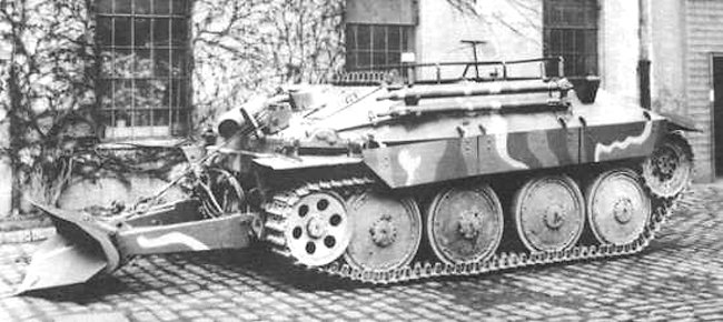 Panzer 38(t) variant the Bergepanzer 38(t)
