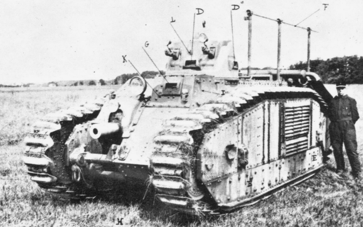 First prototype, Char B 1934