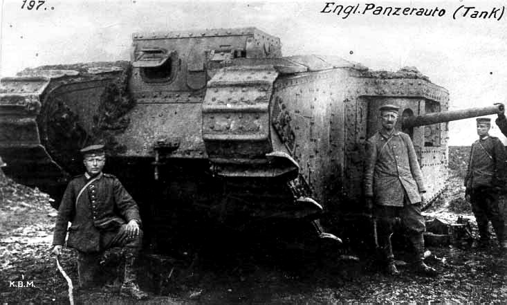 Image result for british mark 2 tank