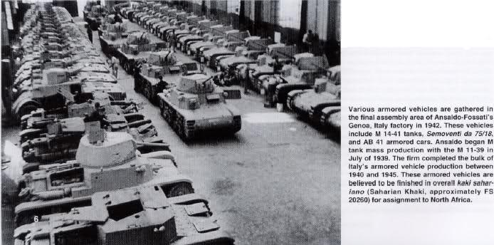 Italian tanks industry