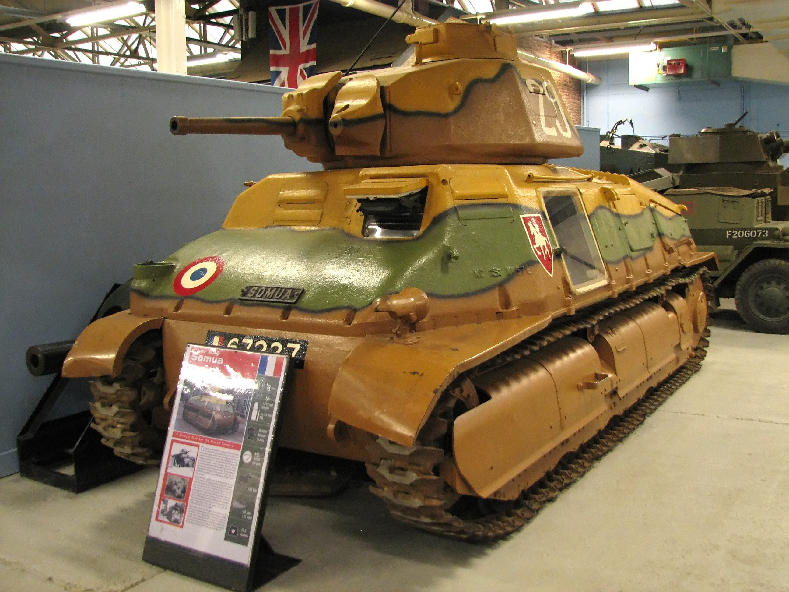 S35 at Bovington tanks museum
