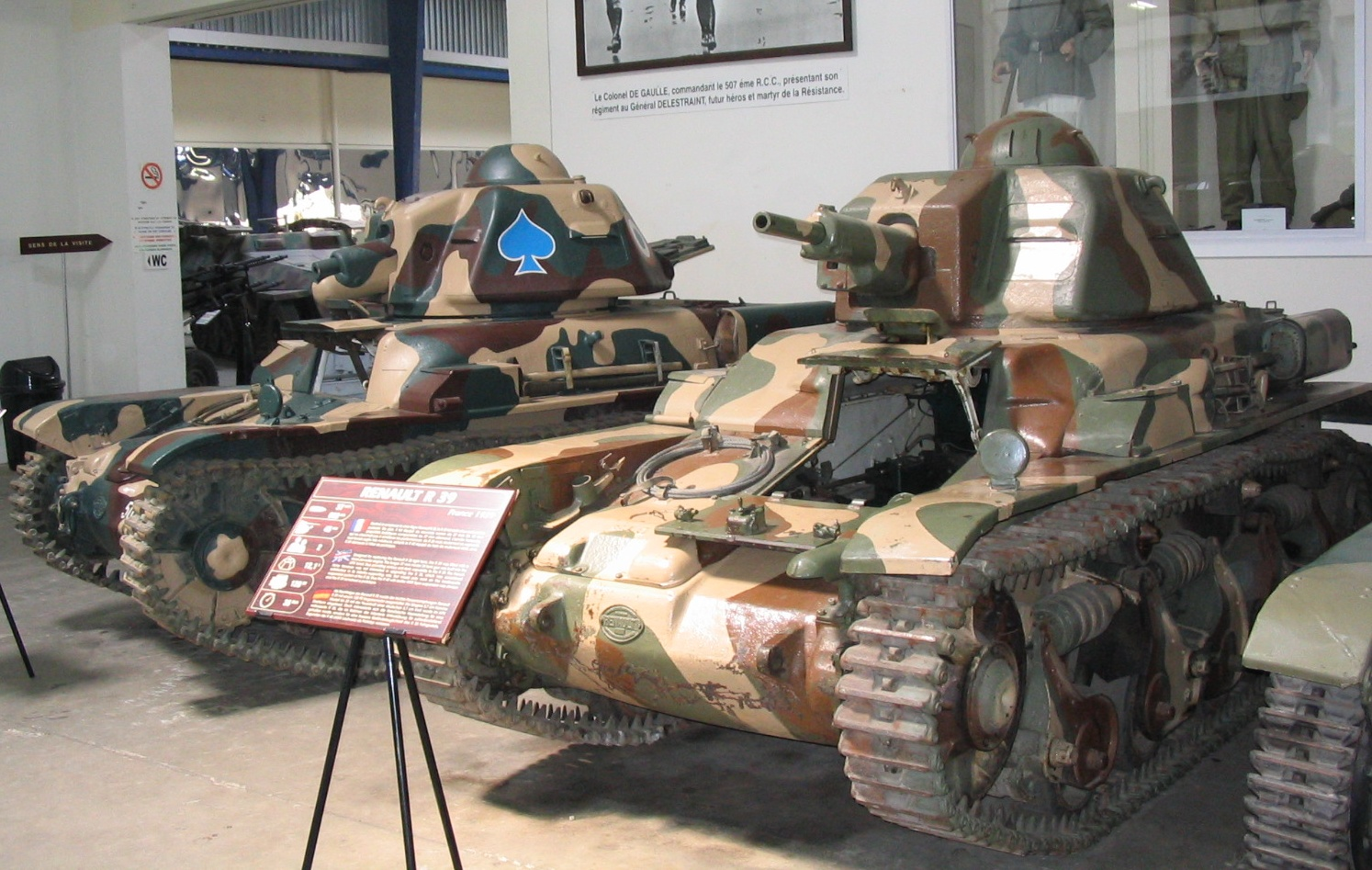 An R-35 at Saumur museum - Wikimedia commons